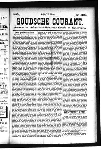Goudsche Courant 1885-03-27
