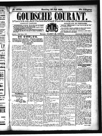 Goudsche Courant 1918-07-22