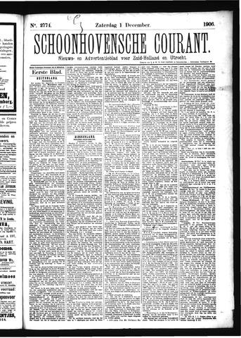 Schoonhovensche Courant 1906-12-01