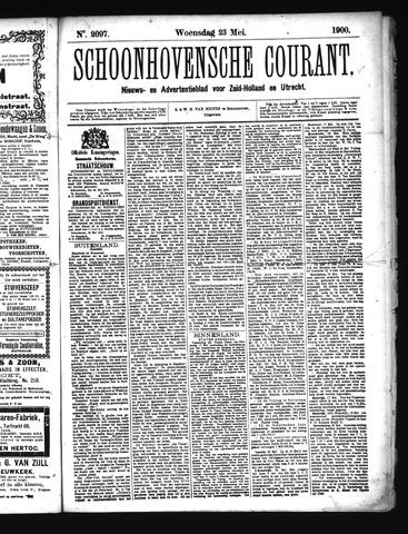Schoonhovensche Courant 1900-05-23