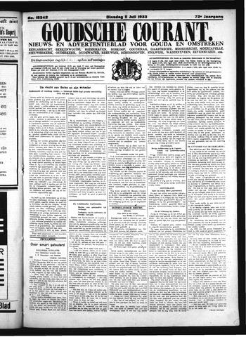 Goudsche Courant 1933-07-11
