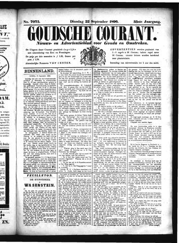 Goudsche Courant 1896-09-22