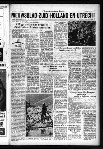 Schoonhovensche Courant 1963-11-06