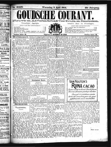 Goudsche Courant 1914-04-08