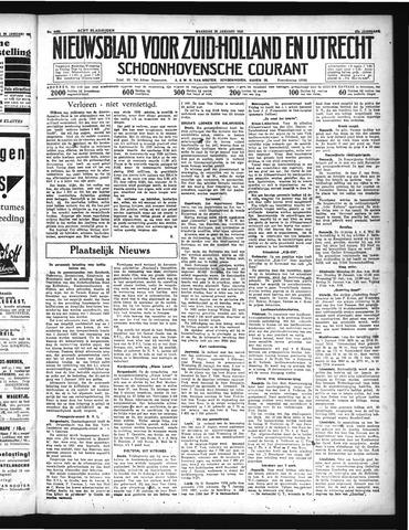 Schoonhovensche Courant 1935-01-28
