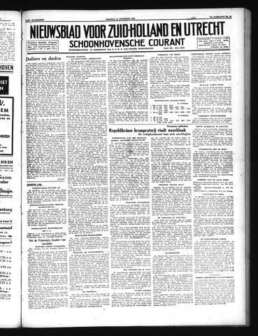 Schoonhovensche Courant 1947-08-15