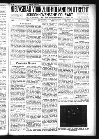 Schoonhovensche Courant 1934-04-11