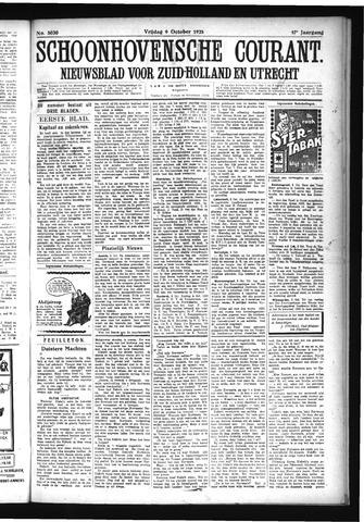 Schoonhovensche Courant 1925-10-09