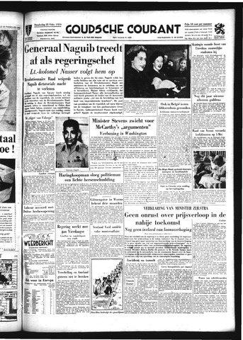 Goudsche Courant 1954-02-25