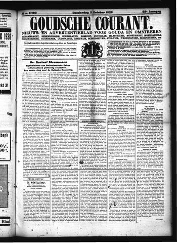 Goudsche Courant 1929-10-03