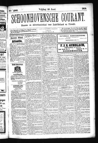 Schoonhovensche Courant 1919-06-20