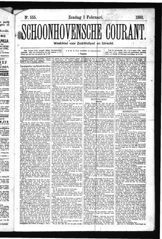 Schoonhovensche Courant 1880-02-01