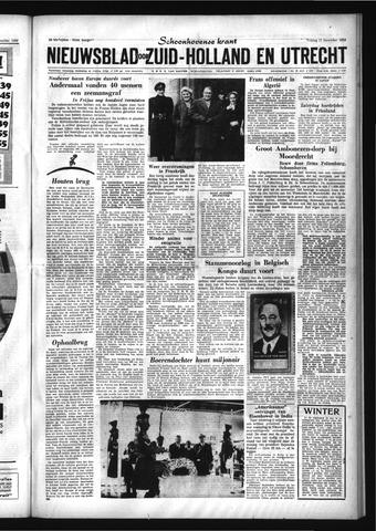 Schoonhovensche Courant 1959-12-11