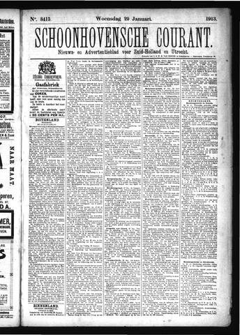 Schoonhovensche Courant 1913-01-29