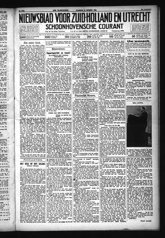 Schoonhovensche Courant 1932-10-24