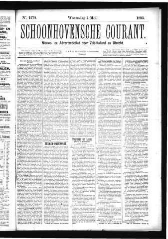 Schoonhovensche Courant 1895-05-01