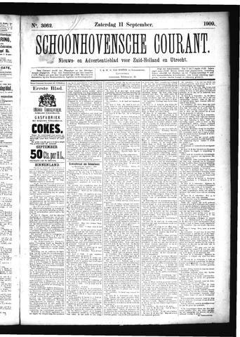 Schoonhovensche Courant 1909-09-11