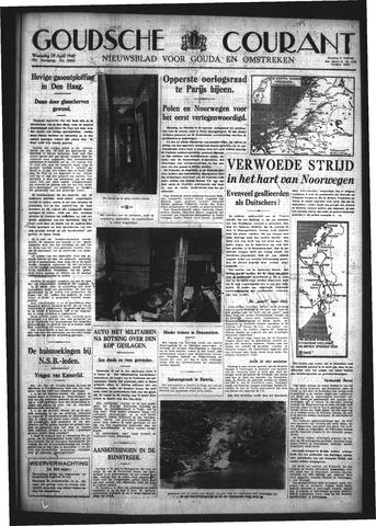 Goudsche Courant 1940-04-24
