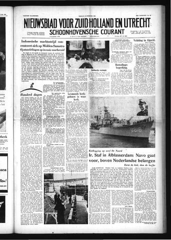 Schoonhovensche Courant 1958-02-28