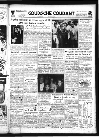 Goudsche Courant 1957-09-14