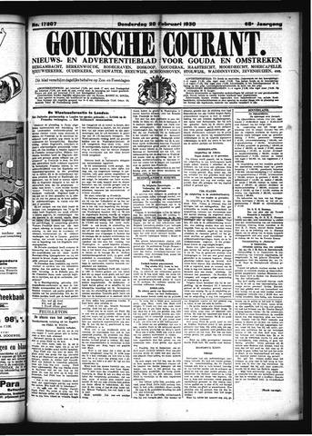 Goudsche Courant 1930-02-20