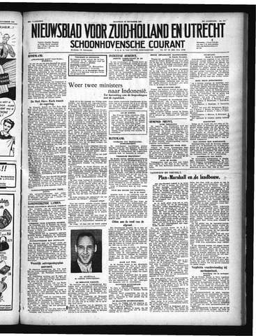 Schoonhovensche Courant 1948-11-22