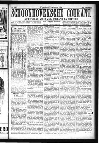 Schoonhovensche Courant 1924-09-17