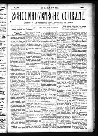 Schoonhovensche Courant 1892-07-20