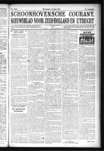 Schoonhovensche Courant 1927-06-15