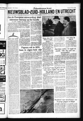 Schoonhovensche Courant 1962-02-16