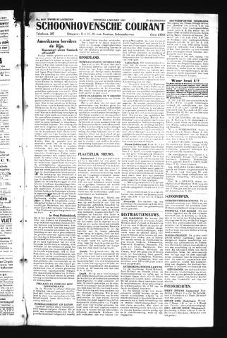 Schoonhovensche Courant 1945-03-06