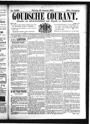 Goudsche Courant 1910-01-25