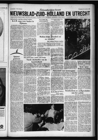 Schoonhovensche Courant 1962-11-14