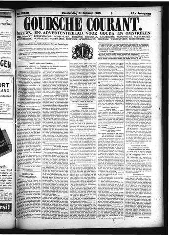 Goudsche Courant 1935-01-31