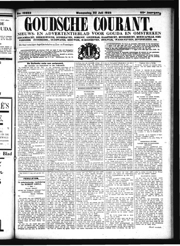Goudsche Courant 1925-07-22