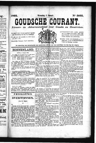 Goudsche Courant 1893-01-04