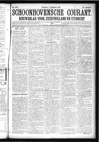Schoonhovensche Courant 1926-08-02