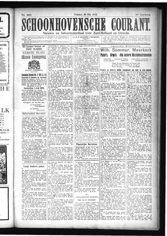 Schoonhovensche Courant 1923-05-25