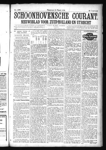 Schoonhovensche Courant 1926-03-22