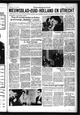 Schoonhovensche Courant 1963-11-04