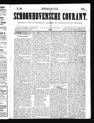 Schoonhovensche Courant 1874-07-19