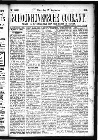 Schoonhovensche Courant 1912-08-17