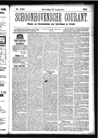 Schoonhovensche Courant 1904-08-20