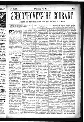 Schoonhovensche Courant 1917-05-29