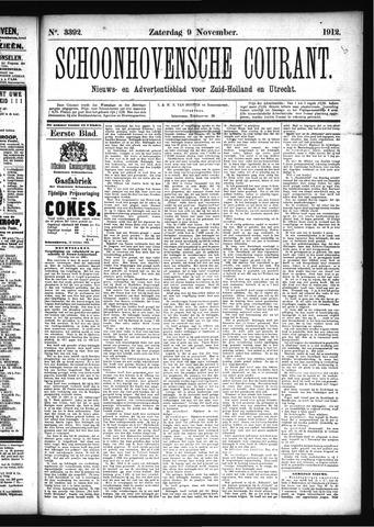 Schoonhovensche Courant 1912-11-09
