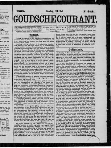 Goudsche Courant 1868-05-24