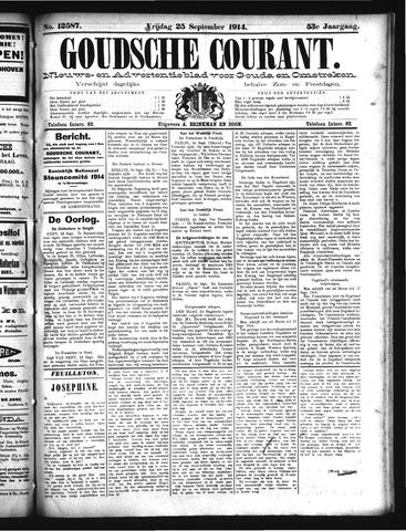Goudsche Courant 1914-09-25