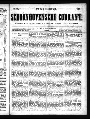 Schoonhovensche Courant 1873-10-12