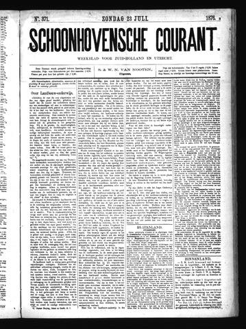 Schoonhovensche Courant 1876-07-23