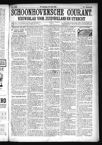 Schoonhovensche Courant 1925-07-29